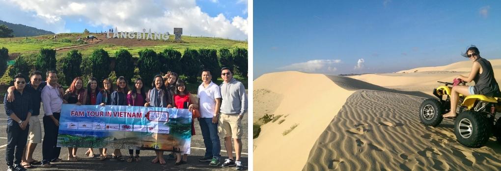 Cùng Vietnam Airlines và Sở Du Lịch TPHCM tổ chức tour cho các đơn vị lữ hành người mua tại hội chợ du lịch Quốc tế ITE TPHCM